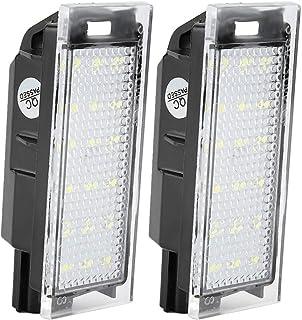 ROSEBEAR Licence D'éclairage de Plaque D'immatriculation 18 Pièces LED Perles de Lumière Ampoules de Lampe Conçues pour Re...