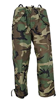 Genuine Issue GI Woodland Goretex Pants Cold Weather Camouflage Trousers