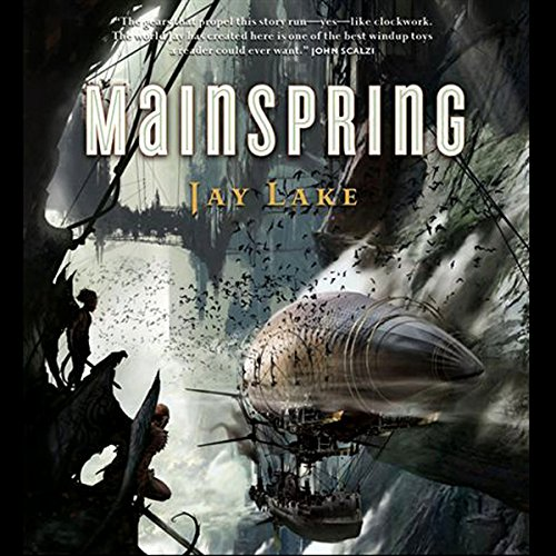Mainspring audiobook cover art