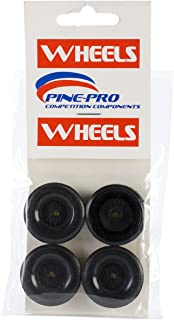 Pinepro Car Derby Wheels, 4-Pack