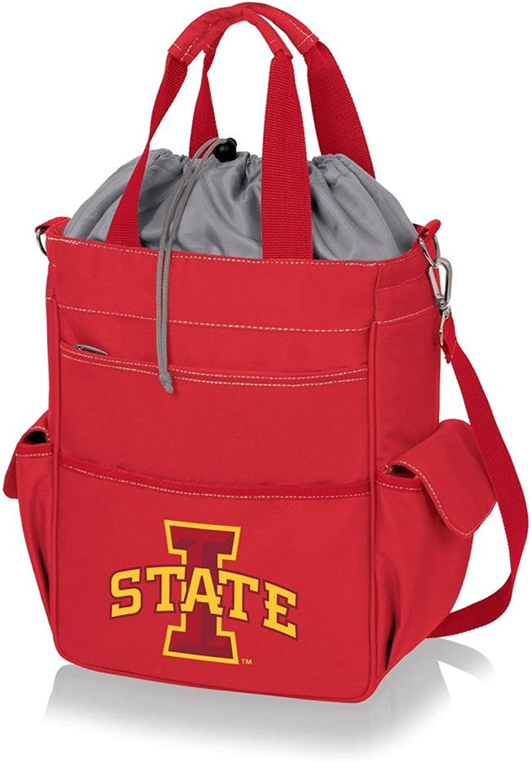 431829cb Picnic Time Iowa State Cyclones Digital Print Tote& 44; Red ...