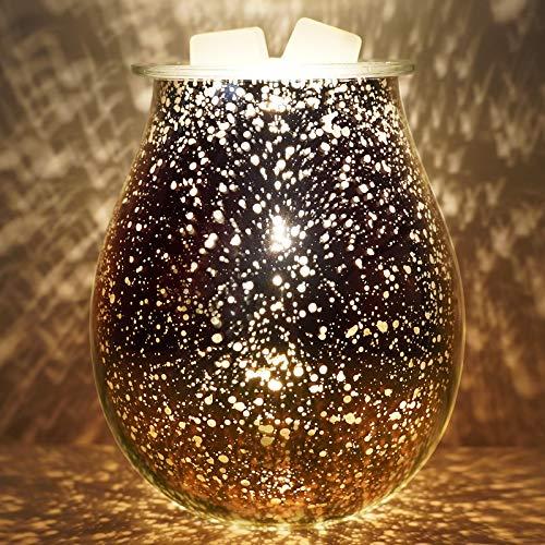 Bobolyn Wax Melt Burner Electric Oil Burner Warmer Scented Candle Fragrance Melter for Home Office Bedroom Living Room Decor