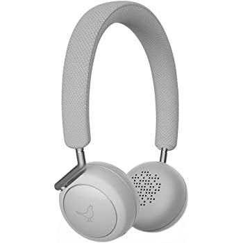 Libratone Q Adapt Active Noise Cancelling Headphones, Wireless Bluetooth Over Ear Headset w/Mic, CSR 8670 Chip, aptX Lossless Hi-Fi Sound with Deep Bass, 20 Hours Playtime for Travel work TV-White