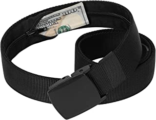 Tactical Nylon Belt, Military Style Webbing Riggers Belt Buckle Quick-Release