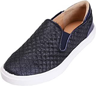 Feversole Women's Fashion Slip-On Sneaker Casual Flat Loafers