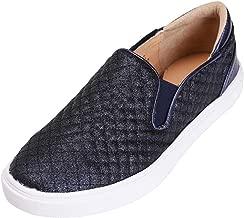 Feversole Women's Fashion Slip-On Sneaker Casual Flat Loafers