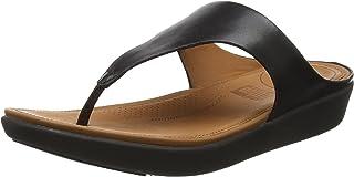ff9ff922 Fitflop Banda II Toe-Thong Sandals-Leather, Sandalias con Punta Abierta  para Mujer