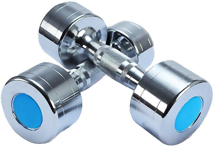 Haltère Unisexe équipement De Conditionnement Physique, Musculation Bras équipement Galvanoplastie en Acier Pur