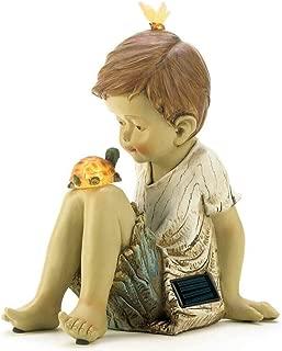 Summerfield Terrace 13913 Making Friends Solar Sculpture, Multicolor