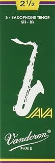 Vandoren SR2725 Tenor Sax JAVA Reeds Strength 2.5; Box of 5