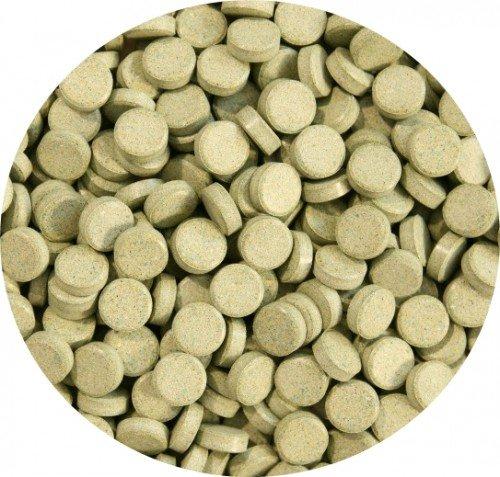 AQUARISTIK-PARADIES Spirulinafuttertabletten 10% 1.000 g (ca. 1.250 ml) - verwendbar als Haft- und Bodentablette