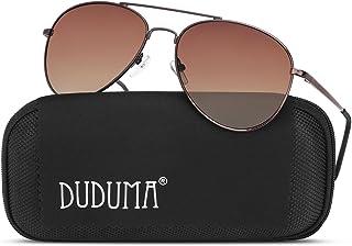 Duduma Aviator Sunglasses for Mens Womens Mirrored Sun...
