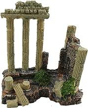 greek ruins fish tank