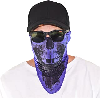 Santa Playa Maskies by, Fun Breathable Face Mask for Biking, Hiking, Running, Outdoors, Festivals, Partying:: Rapp Scullywag