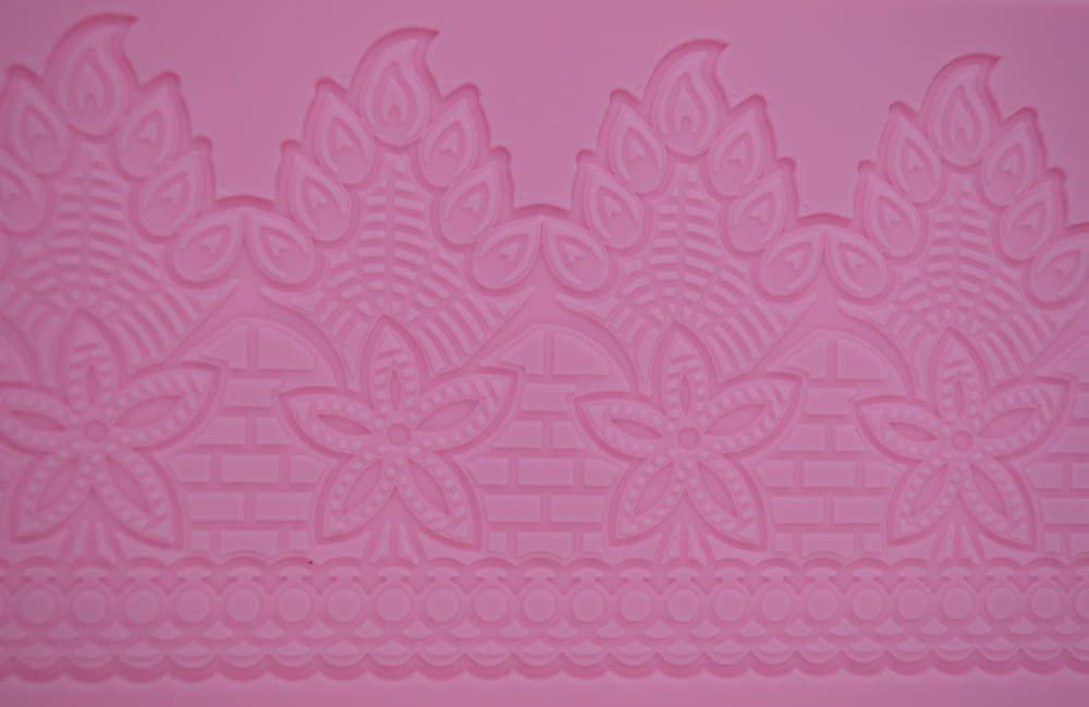 In a popularity Claire Bowman Cake Lace Design Peacock Selling - Mat