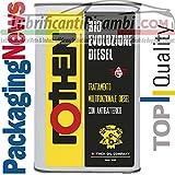 Rothen 1 LITRO ADDITIVO Auto Top per Motori Diesel PULITORE Pulizia INIETTORI BIO Evoluzione Diesel Latta da 1 litro
