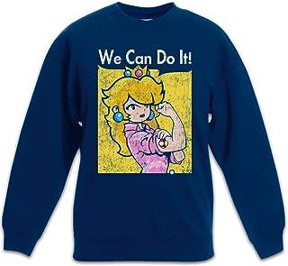 Urban Backwoods We Can Do It Princess Sudadera Suéter para Niños Niñas Pullover