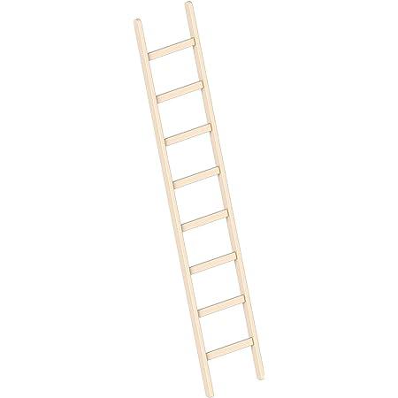 Holzleiter 8 Stufen
