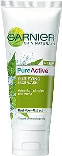 Garnier Skin Naturals Pure Active Neem Face Wash, 100g