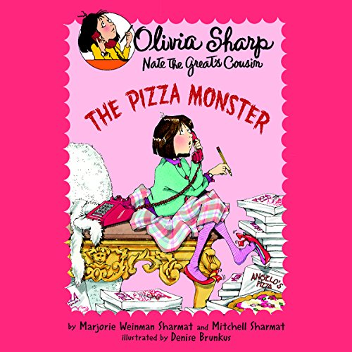 The Pizza Monster audiobook cover art