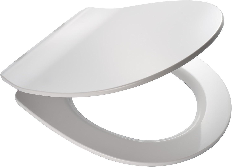 Ridder 02206101 Toilet Seat Las Vegas LED Light, White, 44.8 x 36 x 5.2 cm