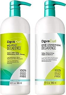 DevaCurl One Condition 32oz + No-Poo 32oz (Decadence)