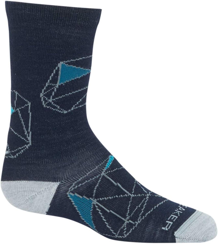 Icebreaker Merino Kid's Lifestyle Crew Socks, Merino Wool