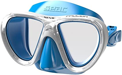Seac Ischia Soft Swimming and Snorkeling Mask Dual Lens