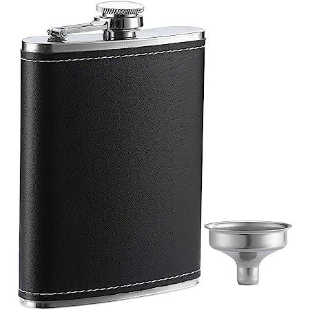 NEW Stainless Steel Liqour Flask NIB