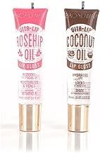 Broadway Vita-Lip Clear Lip Gloss 0.47oz/14ml (2PCS - Coconut & Rosehip Oil)