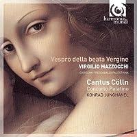 Mazzocchi: Vespro della beata Vergine by Cantus Colln (2009-03-10)