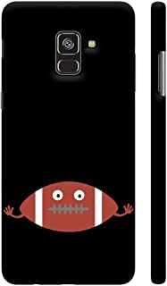 Colorpur Football Head Printed Back Case Cover for Samsung A8