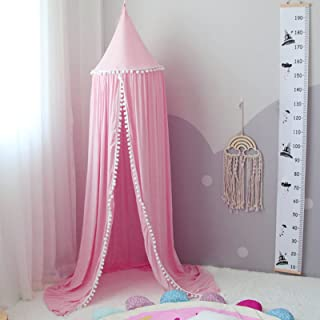 papasbox Prinsessa myggnät, myggnät, barn, spets-baldakin, sänghimmel för barn, myggnät säng, tipi tält för barn, småbarn,...