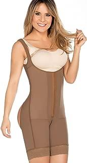 Equilibrium - Post Op Compression Garment - Buttocks Enhancer - Mid Thigh Length Bodysuit - C9003