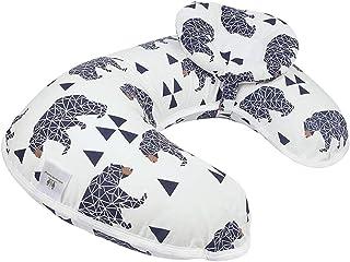 بالش و موقعیت پرستاری شیردهی کودک ، قابل شستشو در ماشین ، پرستار و بالشتک حمایت از شیرخوار پاداش موقعیت جدید بسته جدید (خرس)