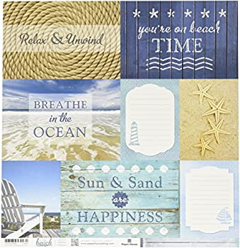 Best beach themed scrapbook paper Reviews
