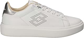 LOTTO SNEAKERS IMPRESSIONS LHT W BIANCO-ARGENTO T4612-36, BIANCO