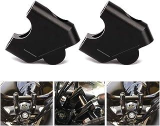 "Motorcycle 7/8"" Handlebar Risers Clamp Bar Risers For Suzuki GSF 1250S 2007-2016 SV650 2016-2018 SV1000 2003-2007 DL250/V-STROM 250 2017-2018 GW250 S/F 2013-2017 Raised 35mm"