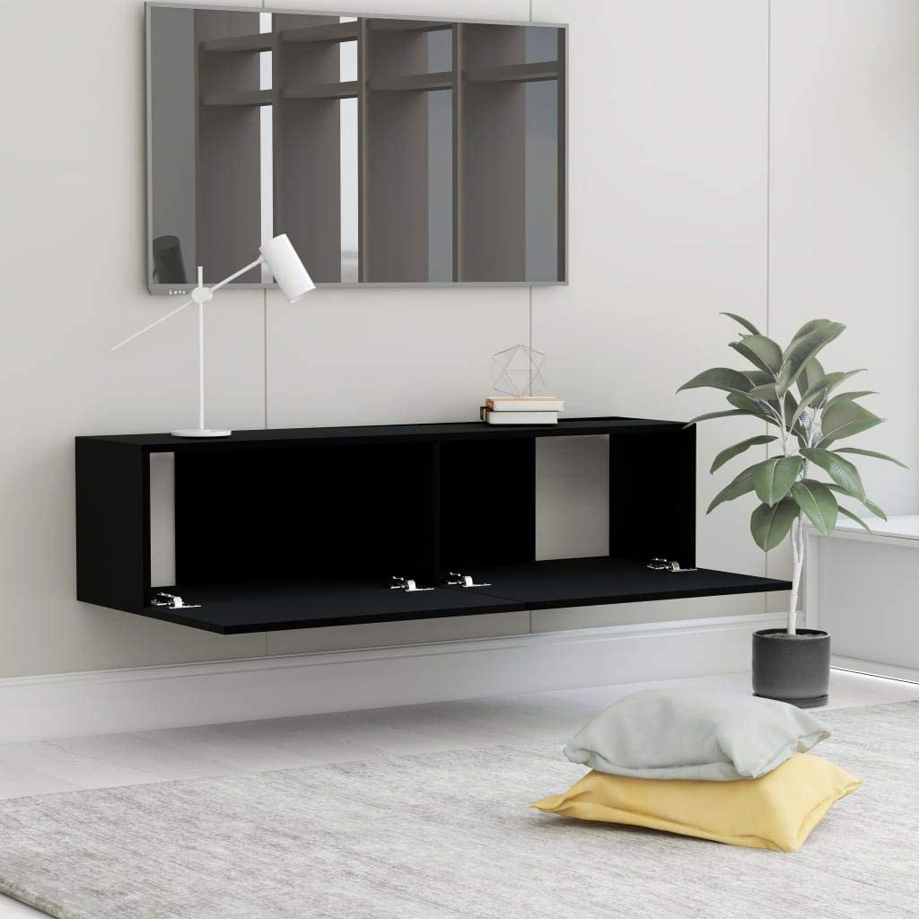 Tavolino Porta TV TV Consolle Bianco 120x30x30 cm in Truciolato UnfadeMemory Mobile Porta TV