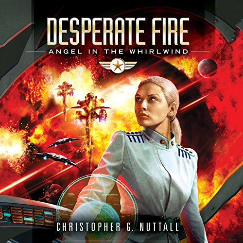 Desperate Fire audiobook cover art