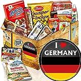 I love Germany / DDR Süßigkeiten / Deutschland Geschenkbox