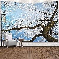 GOOESINGタペストリ居間/寝室のためのー秋の公園のカラフルな木ファッショナブルなタペストリー壁掛け装飾