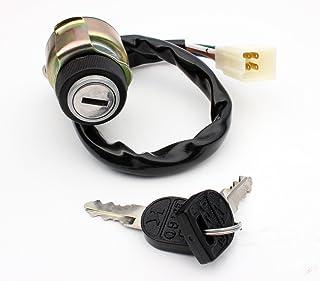 2x Specchio retrovisori compatibile per Kawasaki Z1 900 650 750 1000 1100 56002-021 56002-030