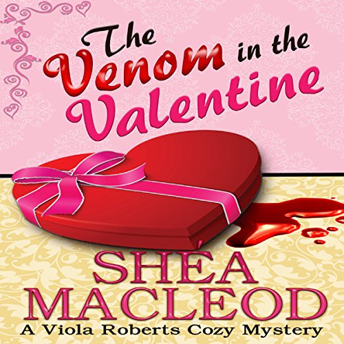 The Venom in the Valentine audiobook cover art