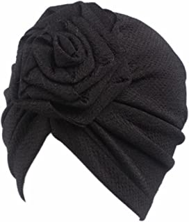Children Baby Girls Women Boho Hat Beanie Scarf Turban Head Wrap Cap