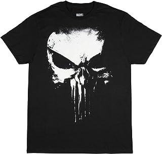 Marvel Comics Punisher Darkest Fear Black Graphic T-Shirt - Small