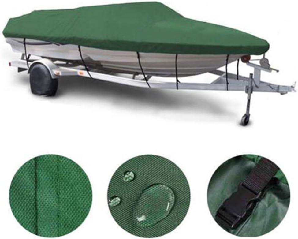Boat Cover 16-18 税込 FT 600D 中古 Heavy Waterproof UV Duty Resistant Mari