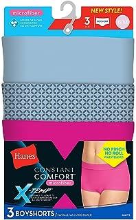 Hanes Constant Comfort X-Temp Microfiber Panties