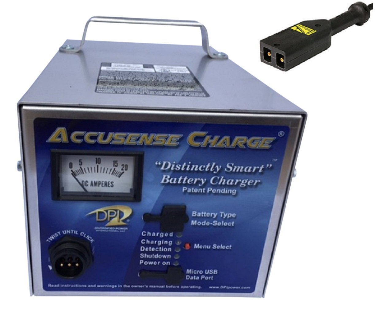 36volt 18amp Battery Charger Ez go