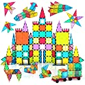 108-Piece Jasonwell Magnetic Tile Building Blocks Set